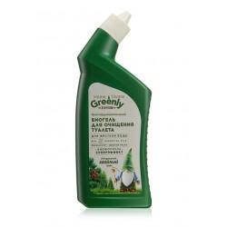 Биогель для очищения туалета многофункциональный «Хвойный микс Home Gnome Greenly» Faberlic