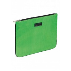 Глянцевый клатч цвет Зеленый