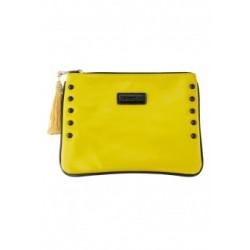 Лакированный клатч Faberlic цвет Желтый