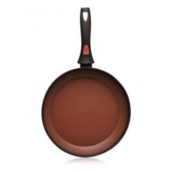 Сковорода с антипригарным покрытием Faberlic цвет Терракотовый, 20 см