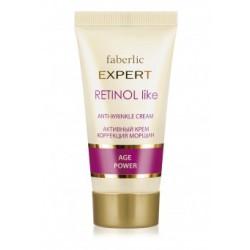 Активный крем для лица Retinol Like «Коррекция морщин» Faberlic