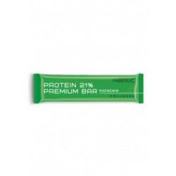 Батончик глазированный «Protein Premium Bar» Faberlic со вкусом фисташки