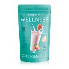 Протеиновый коктейль «Wellness» Faberlic со вкусом клубники