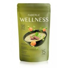 Сухой белковый суп Wellness со вкусом «Гороховый с копченостями» Faberlic