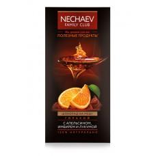 Шоколад на меду горький Faberlic с апельсином, имбирем и лукумой