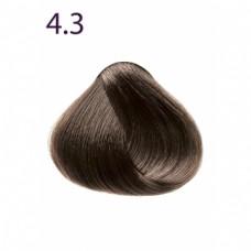 Стойкая крем-краска «Максимум цвета» тон Каштан золотистый 4.3