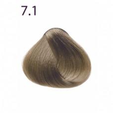 Стойкая крем-краска «Максимум цвета» тон Блондин пепельный 7.1