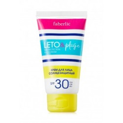 Крем для лица солнцезащитный «LETO&plage» с SPF 30