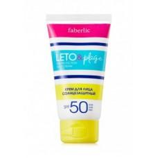 Крем для лица солнцезащитный «LETO&plage» с SPF 50