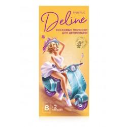 Восковые полоски для депиляции «Орхидея и масло мурумуру» Deline Faberlic