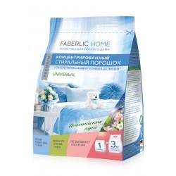 Концентрированный стиральный порошок универсальный «Альпийские луга» Faberlic