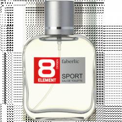 Туалетная вода для мужчин «8 ELEMENT SPORT» Faberlic