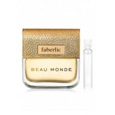 Пробник парфюмерной воды для женщин «Beau Monde»