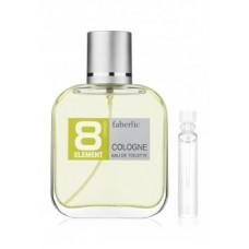 Пробник туалетной воды для мужчин «8 Element Cologne» Faberlic