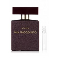 Пробник парфюмерной воды для женщин «Mrs. Incognito»