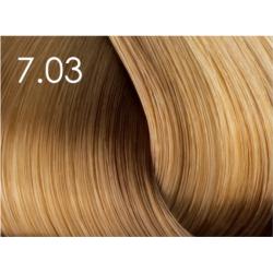 Стойкая крем-краска для волос «Шелковое окрашивание» без аммиака Faberlic тон Светло-русый 7.03