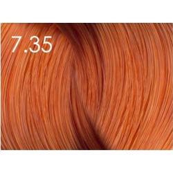 Стойкая крем-краска для волос «Шелковое окрашивание» без аммиака Faberlic тон Королевское манго 7.35