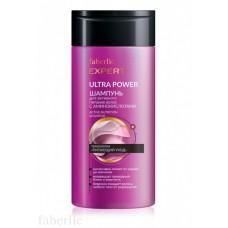 Шампунь для активного питания волос c аминокислотами «Ultra Power» Faberlic
