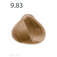 Стойкая питательная крем-краска для волос «Botanica» Faberlic тон Розовое дерево 9.83