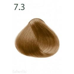 Стойкая питательная крем-краска для волос «Botanica» Faberlic тон Пряная корица 7.3