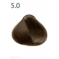 Стойкая питательная крем-краска для волос «Botanica» Faberlic тон Светлый каштан 5.0