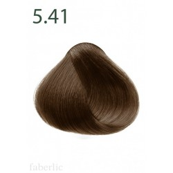 Стойкая питательная крем-краска для волос «Botanica» Faberlic тон Миндаль 5.41