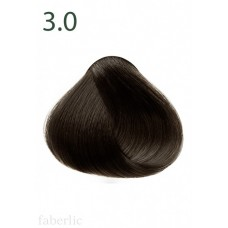 Стойкая питательная крем-краска для волос «Botanica» Faberlic тон Темный каштан 3.0