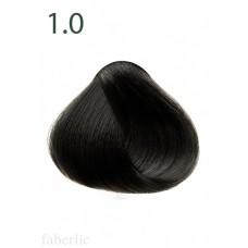 Стойкая питательная крем-краска для волос «Botanica» Faberlic тон Черный кофе 1.0