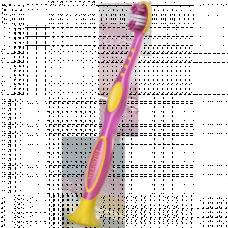 Детская зубная щётка цвет Розовый