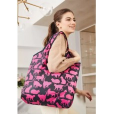 Сумка складная «Забавные котики» Faberlic цвет Розовый