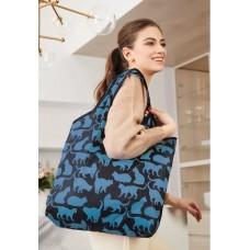Сумка складная «Забавные котики» Faberlic цвет Голубой